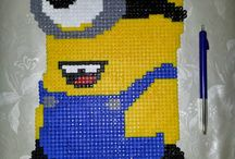 Perler made by me / Hama perler pearl beads made by me