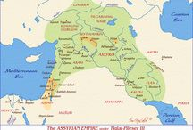 physical map of old testament cities