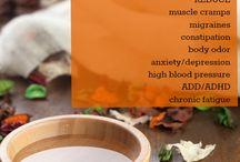 Health - make oils, etc