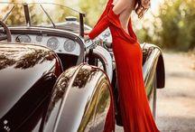 women & cars
