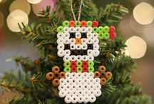 Perler beads Christmas series