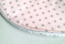 Création en tissu France Duval / Couture en tissu France Duval - Décoration et accessoires pour bébés et enfants.