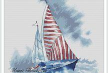 Люба и Никита, Яхты