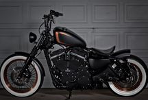 Copper paint motorcycle