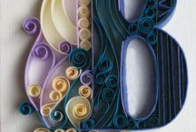 Paper | Curly Q'uilling / Quilling / paper filigree projects / by Katie Kelly