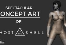 Ghost In The Shell' Movie - Concept Art