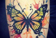 Tatuajes En Acuarela