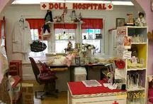 Doll Hospitals / Some of our friends and their shops