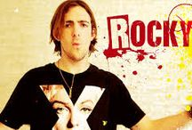 ROCKY MARK LYNCH / Rocky Lynch is a band member of R5.