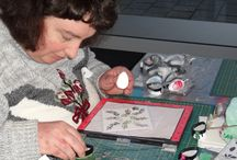 28 december 2016 - Workshop Janette / Op 28 december 2016 gaf Janette van Otterlo een workshop met de misti.