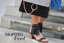 Perfectly Pampered Feet / At this time of year it's imperative to keep our feet well cared for however if we want to give the summer footwear trends a go, and carry it off well.  http://styledoctors.com/perfectly-pampered-feet/
