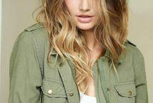 Frisur-Haare