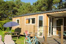 Locations au camping le moustoir / Retrouvez l'ensemble de nos locations: mobile homes, chalets et chambres hôtel à Carnac
