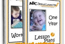 1 Year Curriculum / Ideas to enhance the 1 Year Curriculum at ABCJesusLovesMe.com