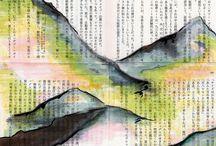 disegni montagna