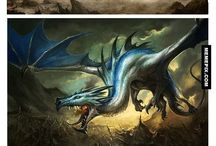 Dragons of the second ligth