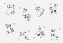 Эскиз snail for game
