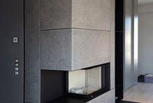 Inneneinrichtung - Interieur / Innenraumgestaltung mit besonderen Materialien