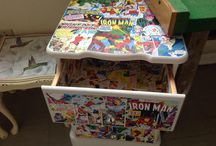 Comic Kon / All Things Comic- Upcycled/Made Items