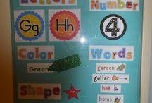 preschool ideas / by Megan Schleicher