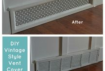 Baseboard heating / by Kathy O'Donnell Prem