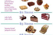 Bake Sales/Vendor Events