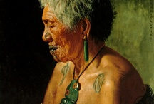 maori elders paintings