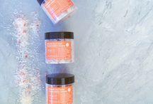 Organic Sugar Scrubs / Our products