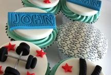 Gym/Bodybuilder Cakes