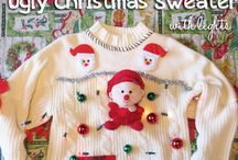 Ugly Christmas Sweaters / by Amy DiGiulio