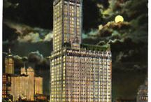 My Favorite Buildings / Buildings across the United States adorned with, or made from, terra cotta.