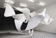 sculptures de papiers