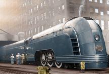 Decopunk train