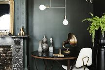 Glamour room - green palette