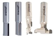 Polycrystalline diamond router bits / PCD router cutters  are specialist router cutters. PCD stands for Polycrystalline diamond, which is bonded onto tungsten carbide tips.