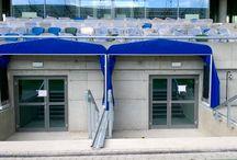 Tunel teleskopowy na stadion piłkarski / Tunel teleskopowy na stadion piłkarski