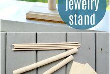 Diy jewelry box -organizer