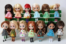 LPS Blythe / Small Blythe dolls and their clothes