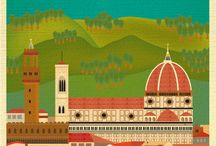 Italien skyline