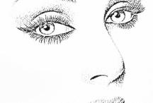 face desenho