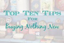 Buying Nothing New