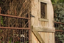 Garden gate / by Julie At Build, Sew, Reap