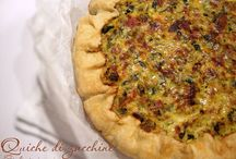 Quiches, torte salate, panne cotte salate, plumcake salati, tortini, sformati e pasticci