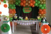 Baby Shower Safari / Decoramos la fiesta de tus sueños, llámanos al 3163190898 en Bogotá. www.beuladecoraciones.com.co