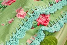 Burlap, Flowers and Crochet / by Tammy Wallis