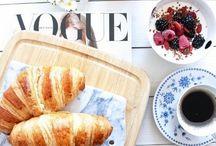 Breakfast photography