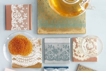 home diy/lace tiles