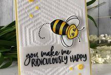Cartes Honey Bee