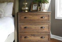 styling a vintage dresser