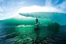 Surfing and underwater
